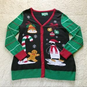 Ugly Christmas Sweater Cardigan